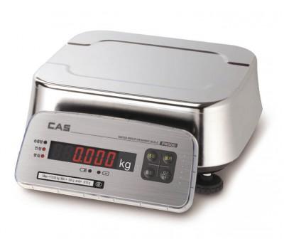 Весы пыле и влагозащищенные CAS FW500